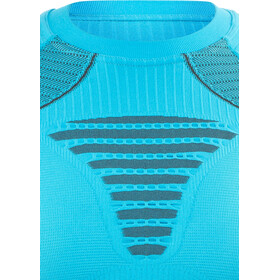 X-Bionic Effektor Running Power Koszulka do biegania z długim rękawem Kobiety turkusowy